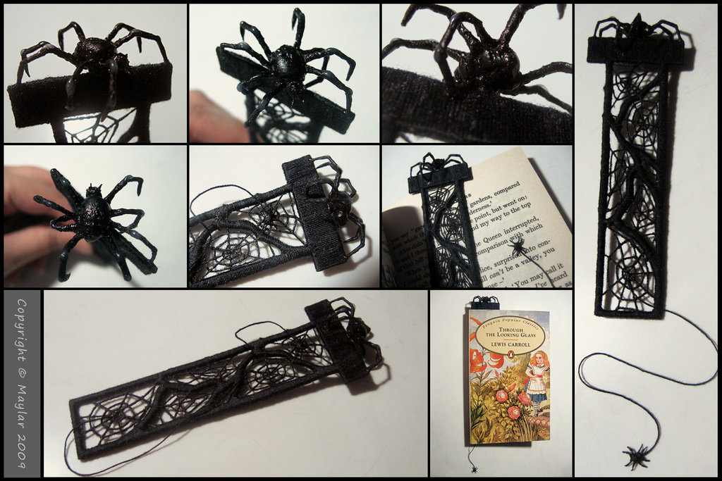 Spider_Bookmark_by_Maylar