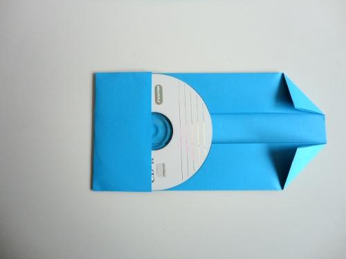 Fundas para CD y mini DVD fáciles de hacer