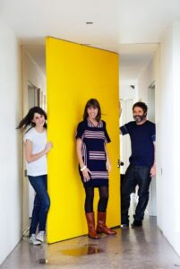 cool-yellow-door-in-the-corridor-and-white-wall-630x940