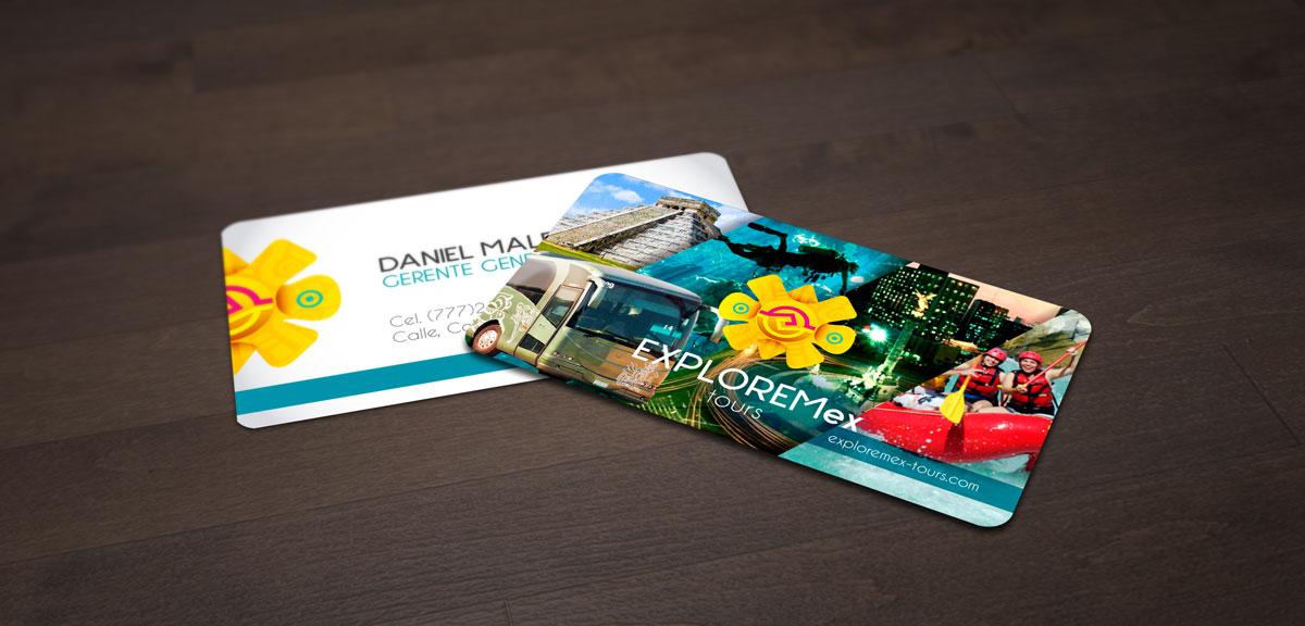 diseños de tarjetas de presentación en cuernavaca