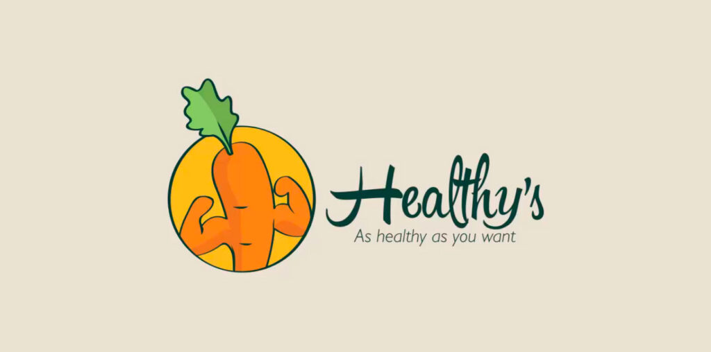 logo comida saludable