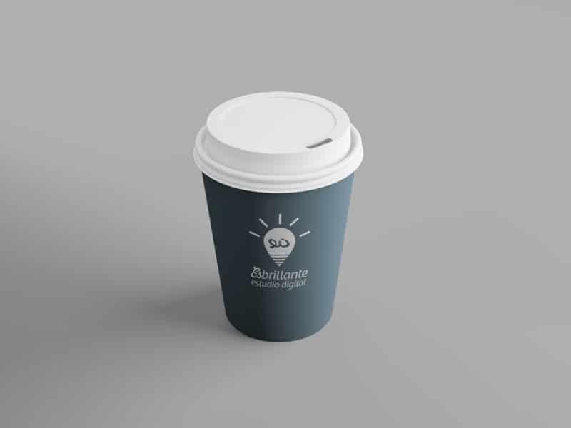 Mockup de vaso de Café