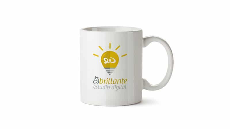 mokcup taza de Café con logotipo