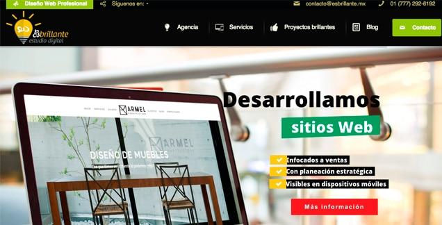 Diseño Web profesional esbrillante