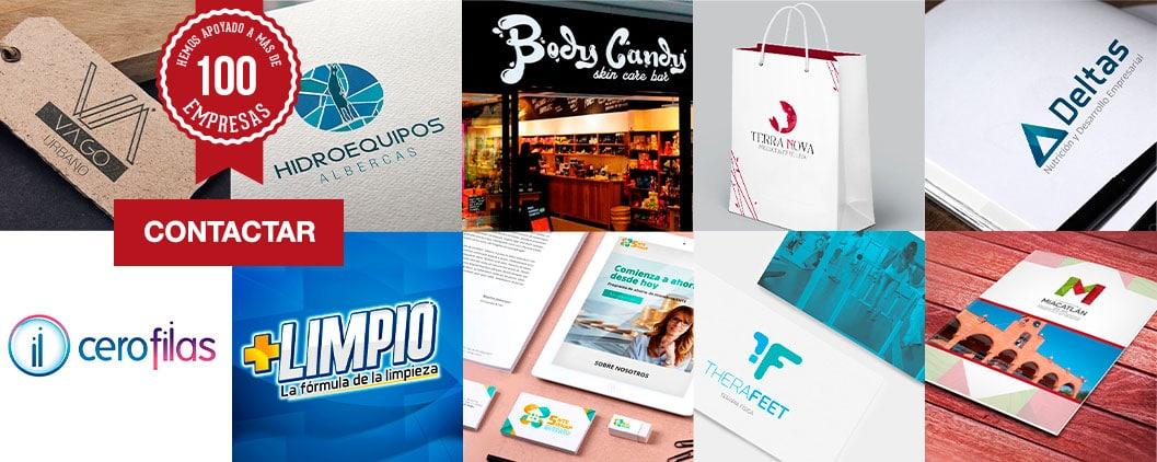 100 Diseño de logos en Cuernavaca firma 100