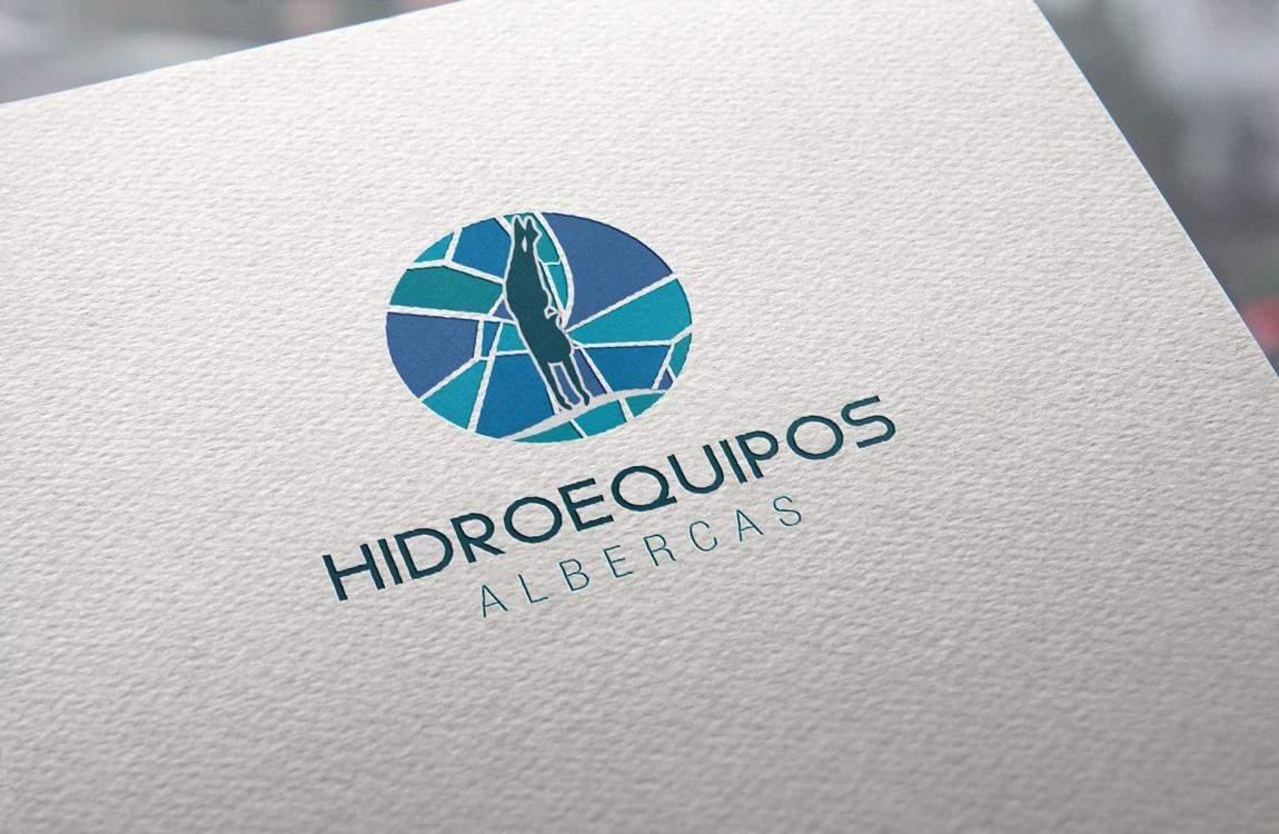 agencia de diseño de logos en cuernavaca morelos rediseño hidroequipos albercas