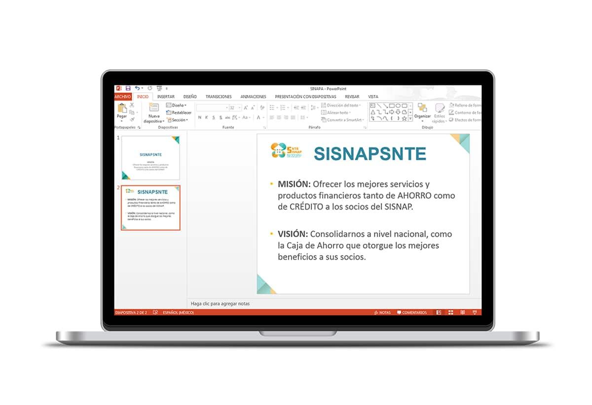 Diseño de imagen Corporativa en Cuernavaca: Top 20 powerpoint sisnap snte