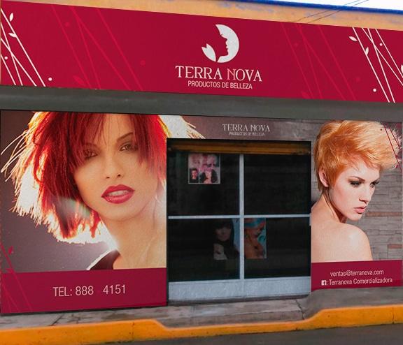 Diseño de imagen Corporativa en Cuernavaca terranova diseño de fachada