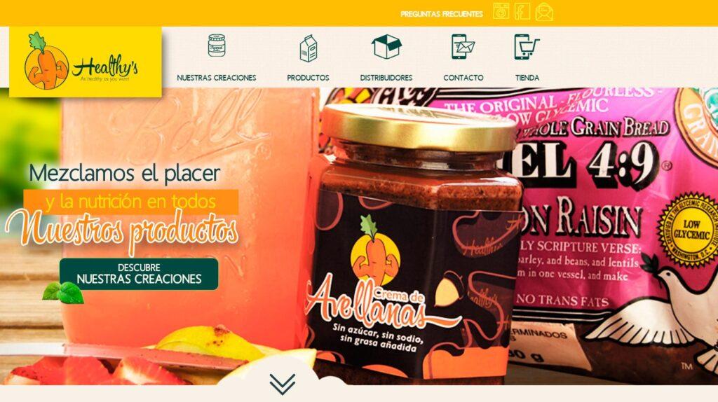 páginas web en cuernavaca - healthys