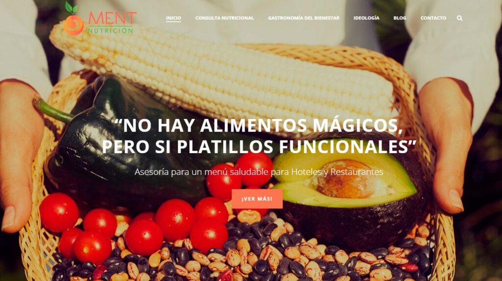 páginas web en Cuernavaca Morelos Ment Nutrición