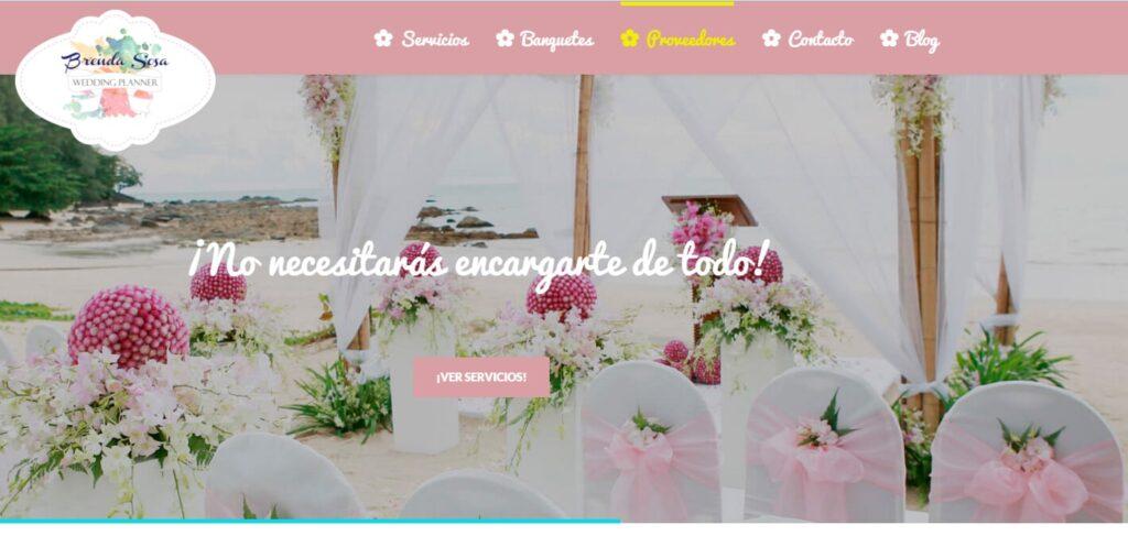 Páginas Web en Cuernavaca Wedding Planner Brenda Sosa