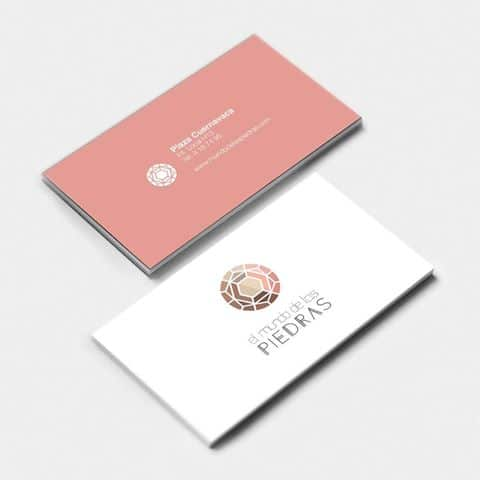 Tarjeta de presentacion joyeria