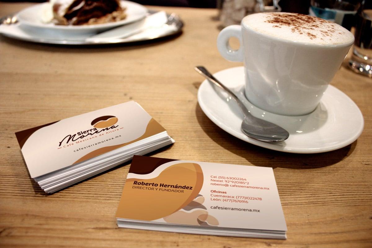 Diseño de imagen Corporativa en Cuernavaca tarjetas de presentacion