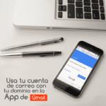 Usa tu cuenta de correo con tu dominio en la App de Gmail