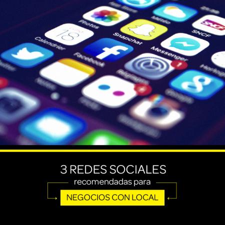 Las 3 mejores redes sociales para negocios con local