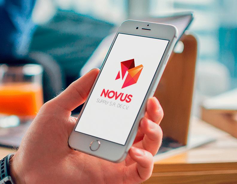 rediseño de imagen corporativa novus