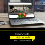Diseño de páginas Web de la ciudad de México (CDMX) antes DF