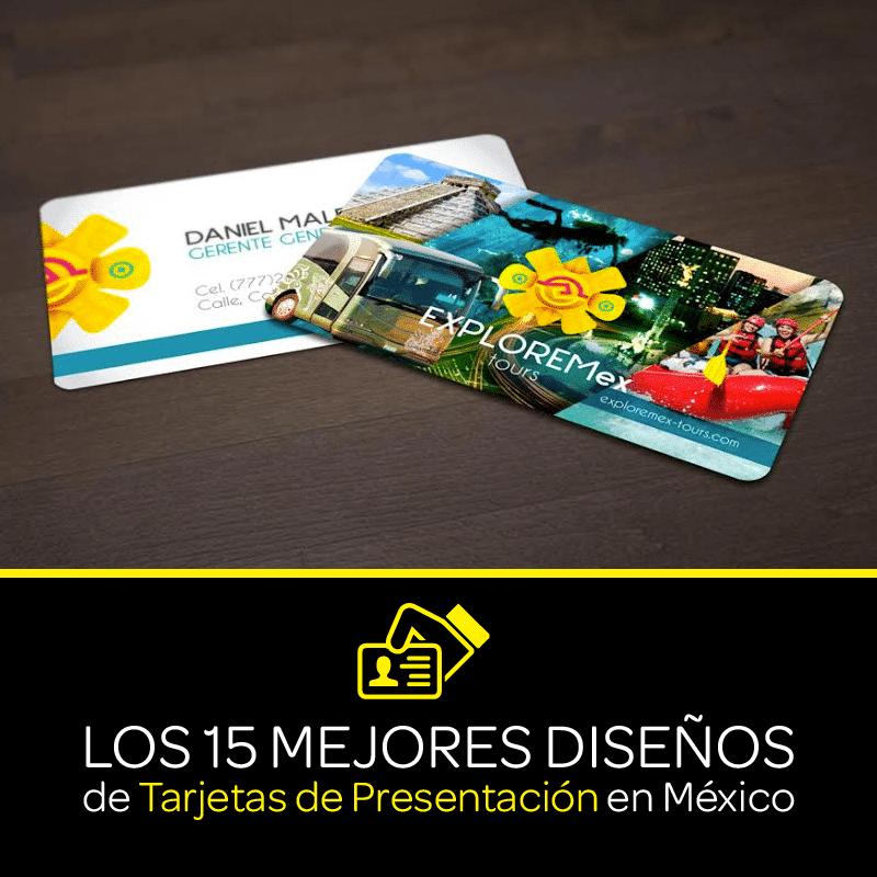Los 15 mejores diseños de tarjetas de presentación en México
