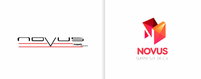 refresh imagen corporativa novus diseño de logo cdmx