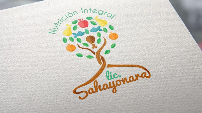 diseños de logotipos para nutriologas sayonara