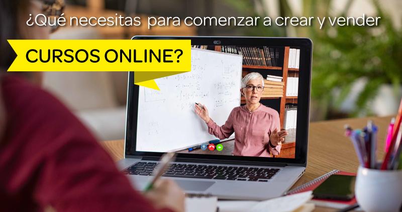 crear y vender cursos online
