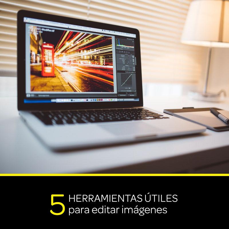 5 Herramientas útiles para editar imágenes