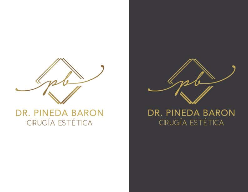 rediseño de logotipo dr pineda minuscula