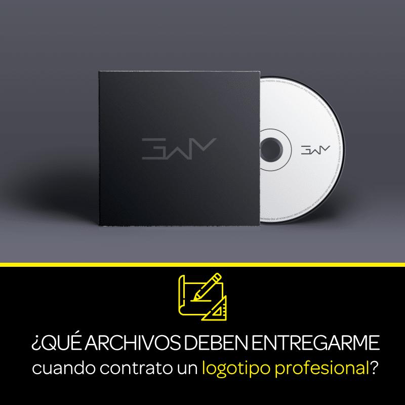 ¿Qué archivos deben entregarme cuando contrato un logotipo profesional?