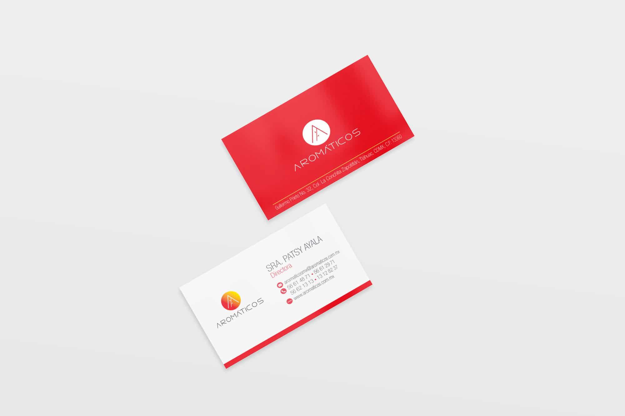 aromaticos tarjeta