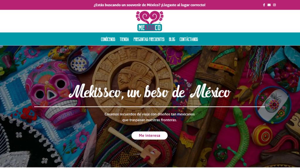 Tienda online Mekissco