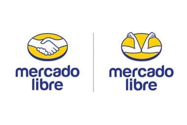 Logo antiguo y logo nuevo de mercado libre