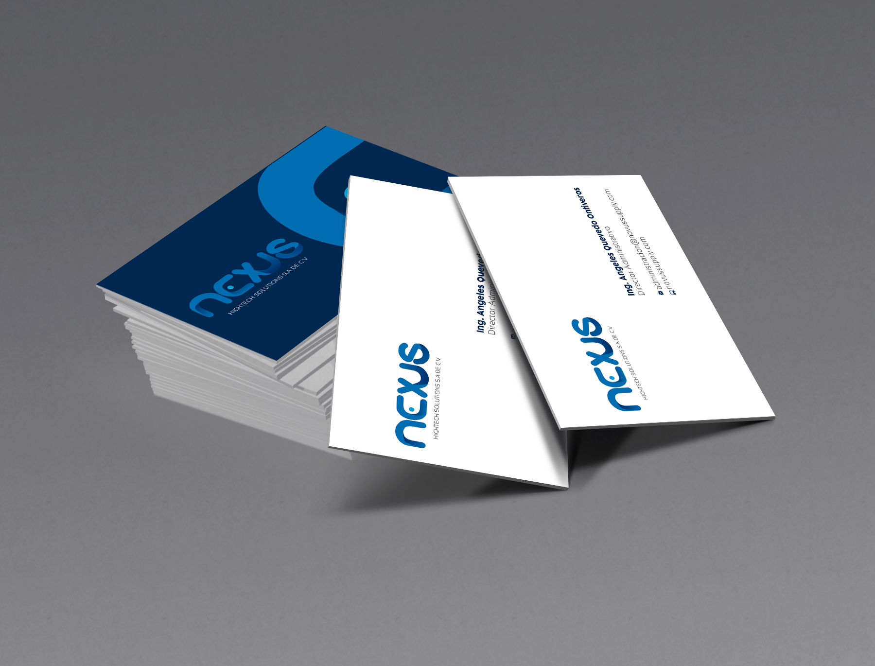 tarjetas nexus rediseño de logotipo
