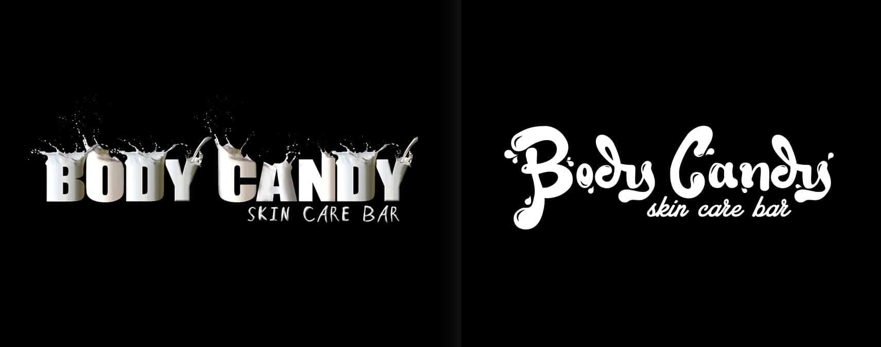 rediseño de logotipo body candy