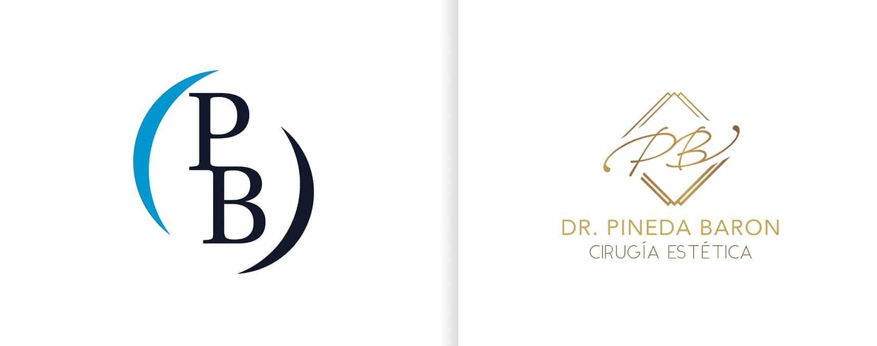 rediseño de logotipo dr pineda