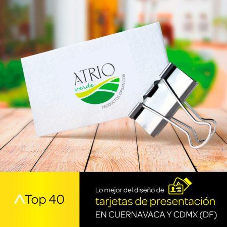 Lo mejor del diseño de tarjetas de presentación en Cuernavaca y CDMX (DF)