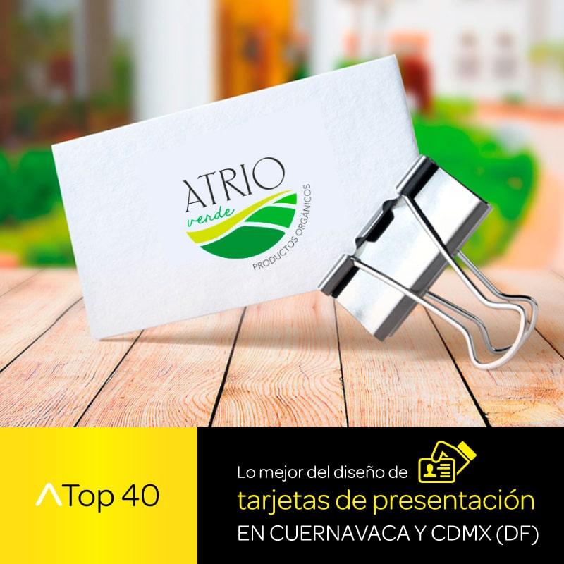 Lo Mejor Del Diseño De Tarjetas Presentación En Cuernavaca Y Cdmx Df